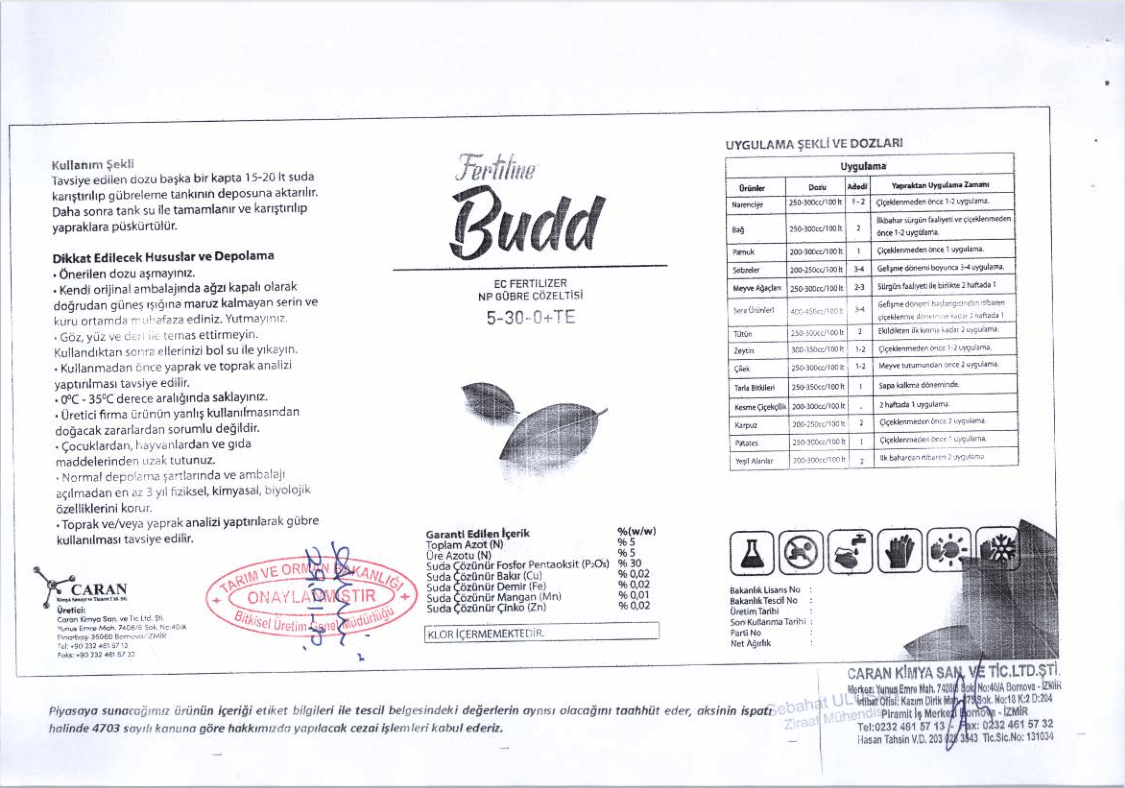 budd tescil 2